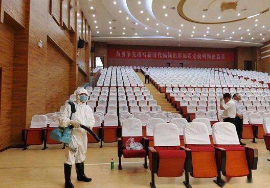 武汉学校消毒